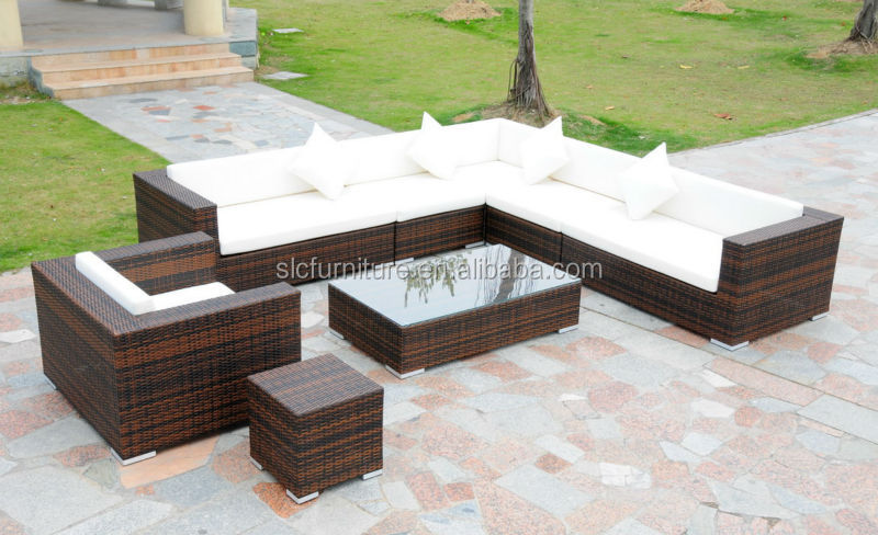 NEW Style Rattan Sofa On Promotion (SC-A7621)