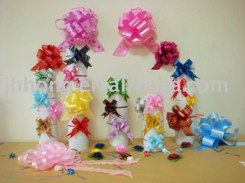 Pull flower ribbon/packaging bow HYL06337