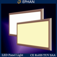 Ephan decorative rectangular led down ceiling light panel