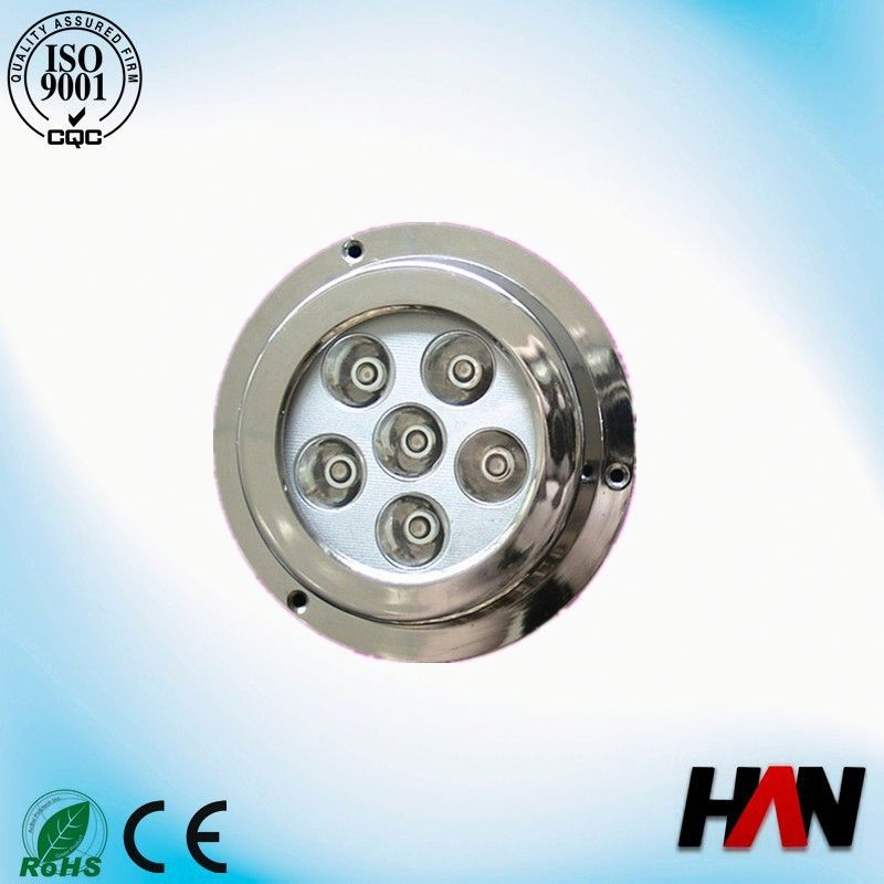 Surface Mount 316 stainless steel rgb IP68 underwater led lights for bathtubs