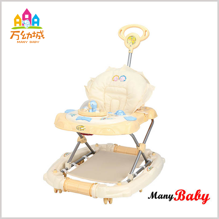 hot sale & high quality height adjustable seat baby walker brands