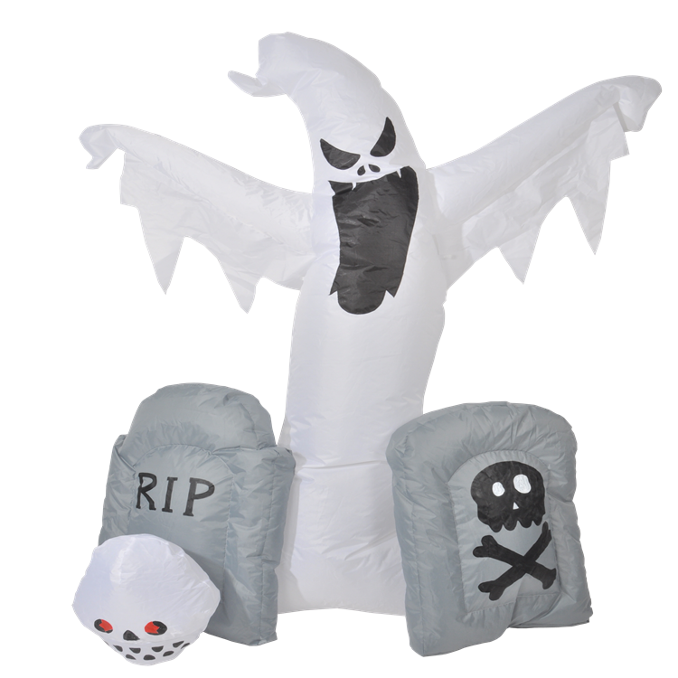 Customized Size Eco-friendly Inflatable Halloween Party Graves Ghost
