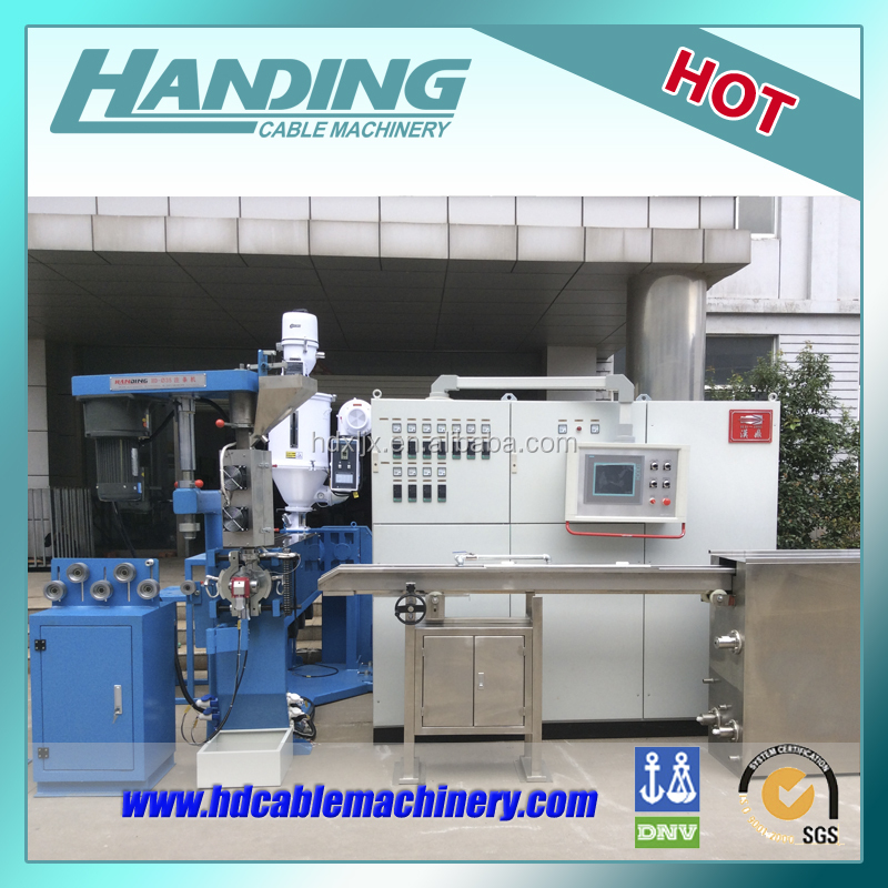 Best quality 70+35mm used plastic extruder machine
