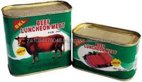 Canned Meat and Beef supply 2015