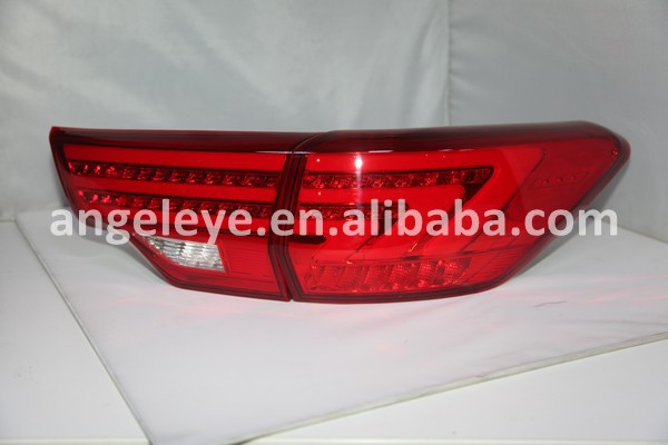 For Toyota Highlander LED Strip Tail Lamp Rear Lights 2014-2015 Year Red Color BZW