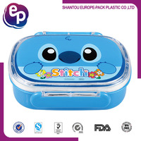 Wholesale plastic hot bento lunch box for kids take away food box