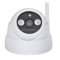 ATZ P2P dome ip camera support 32G micro sd card,video wifi IR ip camera,smart home security video intercome camera