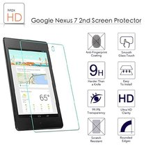 9H 2.5D Shatterproof Tempered Glass Film Screen Protector for google nexus 7 2nd