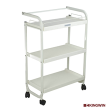 beauty salon trolley SPA Cart with Plastic Shelves