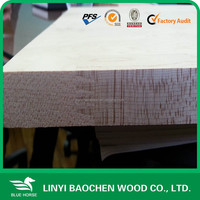 wood furniture material edge glued panel