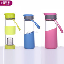 500ml Glass Water Bottle With Tea Filter