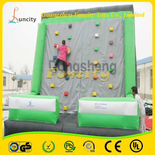 Oem high quality CE standard PVC material useful favorable price children used rock climbing wall