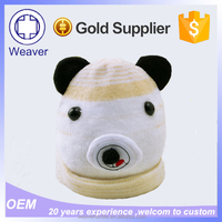 Wholesale Children Knit Panda Hats with Animal Cat Hat in Alibaba
