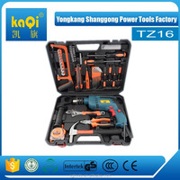 KaQi professional tool sets, multi - functional impact drill 32pcs complete tool box set