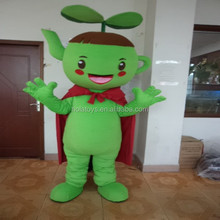 Hola green teapot mascot costume for adult
