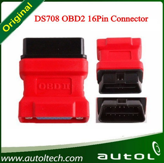DS708 scanner OBDii connector 16 Pin Adaptor