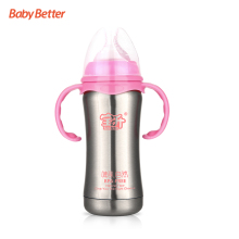 Hot Sales High Quality usa manufacturers stainless steel baby feeding bottle vacuum flask feeding baby bottle