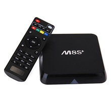 HOT M8S+ 4k E Digital Set Top Box Tictid M9c Pro Full 1080p 4.2.2 HD Video Android 6.0 TV Box Arabic Channel Free Hieha tv
