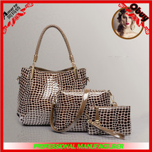 wholesale latest new design sexy women leather beige bags