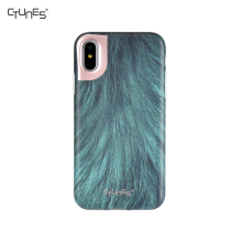 IMD Jade green Animal Skin Printing Matte Soft Silicone Bumper Shockproof Gel TPU Rubber Back Cover Case For Apple iPhone X