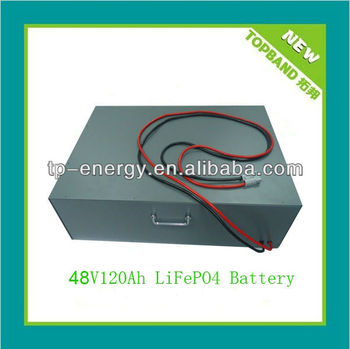 Hot Selling 48V 120Ah Li-ion Battery Pack with BMS