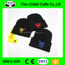 Winter Wool Knitted Ha Pokemon Go Men Women Unisex Hip-Hop Wool Cap Hot Spot Winter Ski Hat