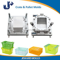 Low Cost High Quality Plastic Crate Injection Mold