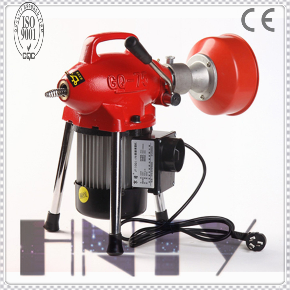 2016 Newest Model Drainage Pipe Machine, Electric Snake Drain Cleaner