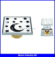 metal shower floor drain stainless steel cover