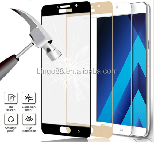 Film Clear Protect Slim Protective Film for Samsung Galaxy A3 A5 A7 2017 Anti-Explosion Tempered Glass Film Screen Protective