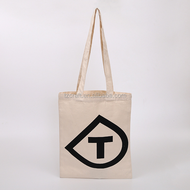 High quality promotional cotton canvas shopping tote bag