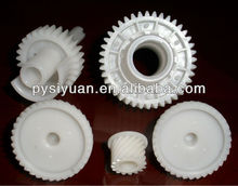 injection molde plastic spur gear for machinery