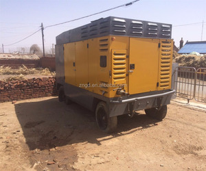 Used Atlas Copco XRVS1050 screw mobile air compressor used Atlas Copco Sullair airman XRVS1096 air compressor