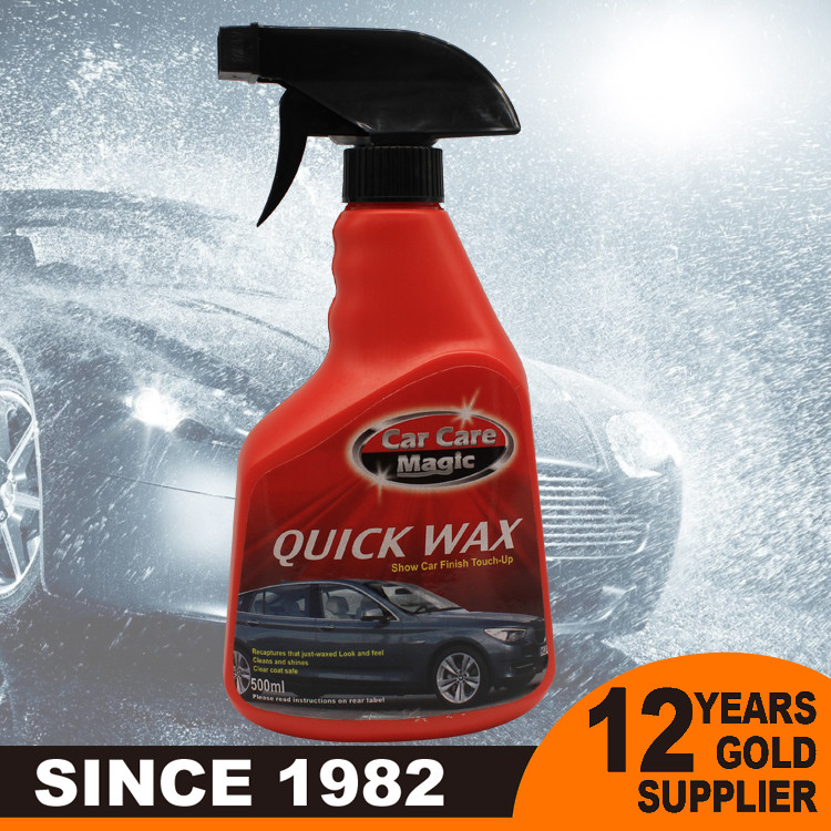 Liquid crystal car wax car shine spray wax