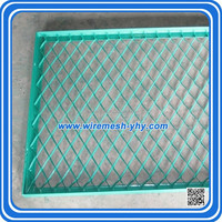 0.5mm Thickness PVC Coated Expanded Metal Mesh