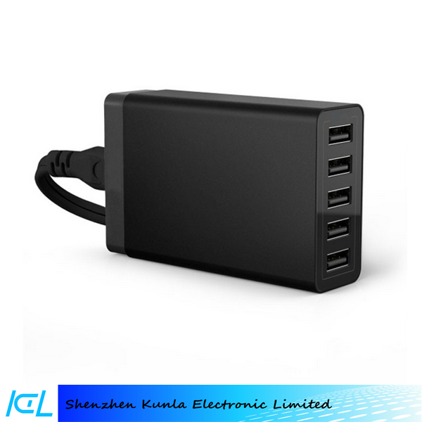 2015 home use 40w 5 Usb Port 5v 8a fast Charging Station,Multi Port Usb For Mobile Phone & Tablet