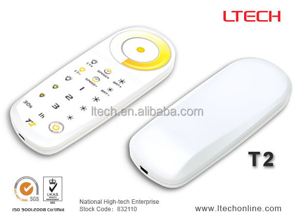 2CH led dimmer/color temperature LED controller/CT wireless led controller