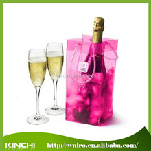 Top quality wholesale PVC ice bag for Wine/Beer Packing
