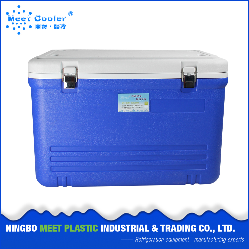 52L New Stylish Picnic Lunch Outdoor Insulated Plastic Picnic Ice Cooler Box