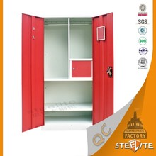 High Quality Simple Design Cheap Cartoon Wardrobe / Iron Cabinet