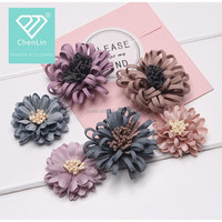 DIY Beautiful Flower No Clip For Hairpin/Shoes/Hat/Clothing accessories