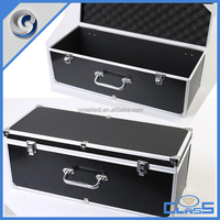 MLDGJ1097 Black sturdy aluminum plastic tool box with handle