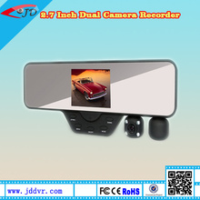 "HD High Definition 3.5 "" Night Vision Loop Recording Wide Angle Dual Camera Rear Mirror"