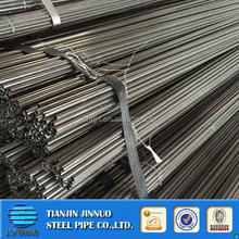 High quality structural black steel pipe value in stock