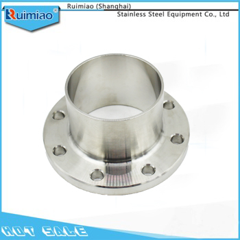 Raised face forged stainless steel weld neck pipe flange