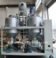 Wasted Black Car Oil Regeneration/Oil Purification/Oil Recycling System