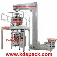KDS-520SS Automatic frozen chicken wings weighing packing machine