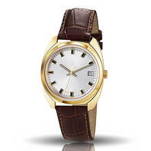 Latest fashion unisex leather minimalist korean fashion watches