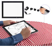Artist stencil led tracing light pad lightbox
