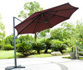 3m size extra large side hanging garden umbrella